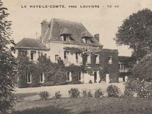 Cartes postales des années 1910 (Archives départementales de l'Eure, en ligne).