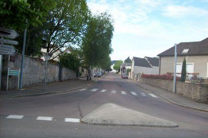 Quartier de la Croix-Verte : la rue de la Croix-Verte.