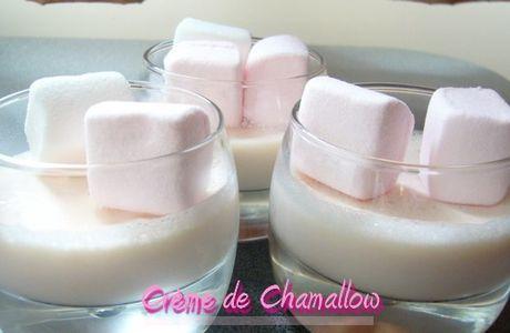 Crème chamallow