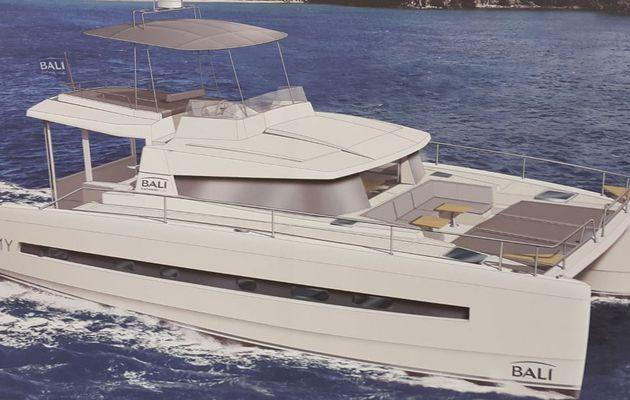 Les Directs du Nautic 2014 - Catana annonce un catamaran motor-yacht, le Bali 4.2 MY