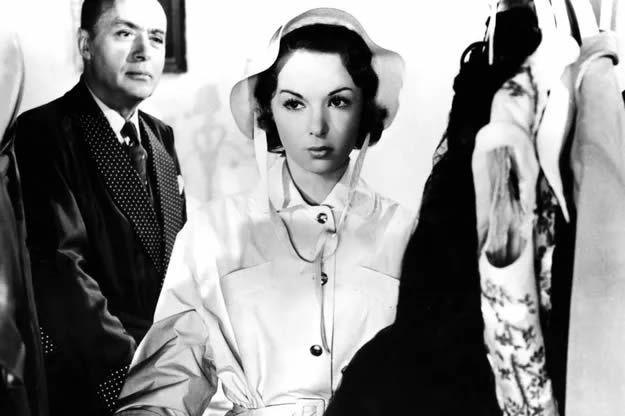 Françoise Arnoul en 1956. MARY EVANS/SIPA