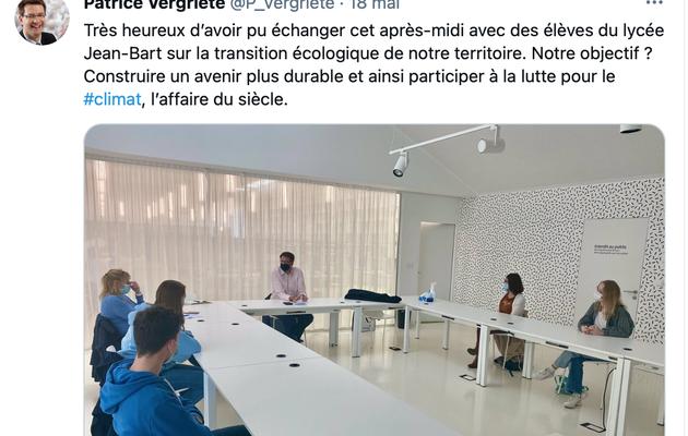 La transition écologique un sujet au coeur du lycée Jean Bart