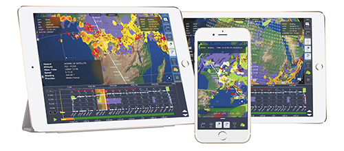 Leading SITAONAIR pilot weather solution certified to deliver real-time weather information on Inmarsat's SB-S
