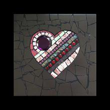 Coeur mosaique