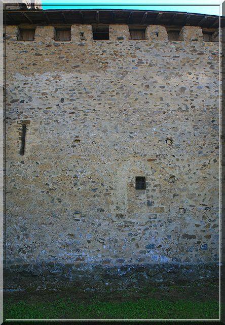 Diaporama église fortifiée de Castillon en Couserans