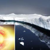 Révélation choc - la couche de glace fond à cause du réchauffement du noyau de la terre , et non pas à cause du réchauffement global - MOINS de BIENS PLUS de LIENS