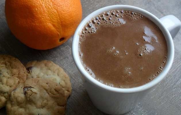 Chocolat chaud à l'orange (Végan)