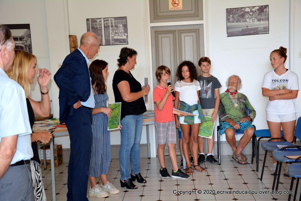 Remise des prix du concours des 10 Mots aux scolaires du second degré en présence de M. Le Vice-recteur