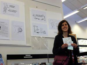 """Expo-Dessins """"Les dessins de Mireille ... pour les 20 ans de Chante-Ruisseau"""""""