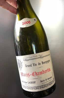 Mazis-Chambertin B 2006 Dominique Laurent