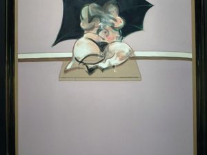 """Francis Bacon """"Triptych, studies of a human body (detail)"""" (1970)"""