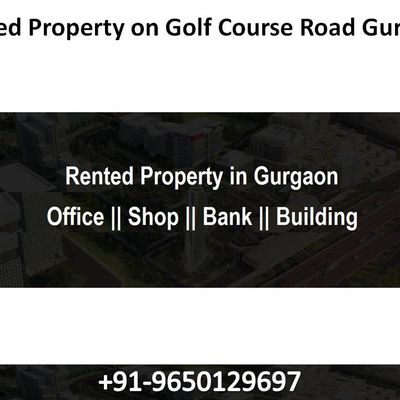 Rented Property on Golf Course Road Gurgaon || 9650129697