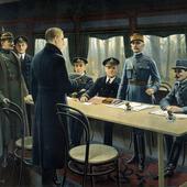 """L'armistice du 11 novembre 1918 et """"La victoire endeuillée"""" (1918-1920)"""