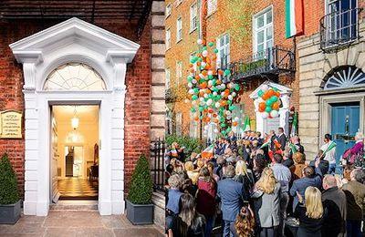 Einweihung des neuen Gebäudes für Nationale Angelegenheiten in Dublin