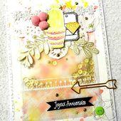 Carte Joyeux anniversaire - Défi#35 - La.carte.à.idées