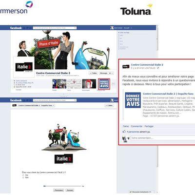 Fan Page Centre commercial ITALIE 2: Les Fans Facebook font parts de leurs idées