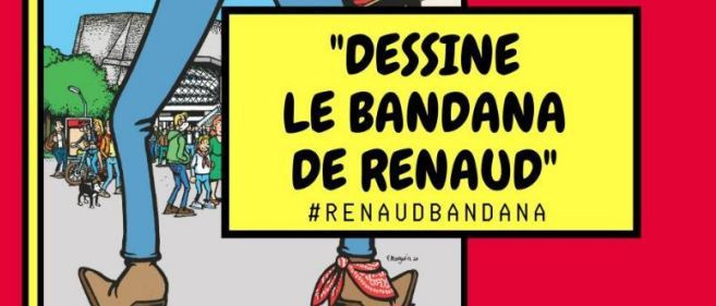 France Inter invite ses auditeurs à dessiner le bandana de Renaud