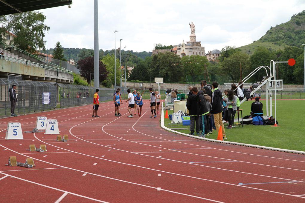 Record de France en 1'41''9 pour Morgane + Lison + Charles + Adrien