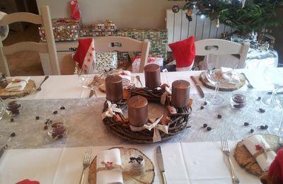 Table de Noël Nature