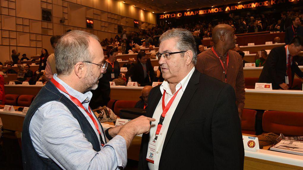 La rencontre internationale des partis communistes a débuté à Athènes (Vidéo & Photos)