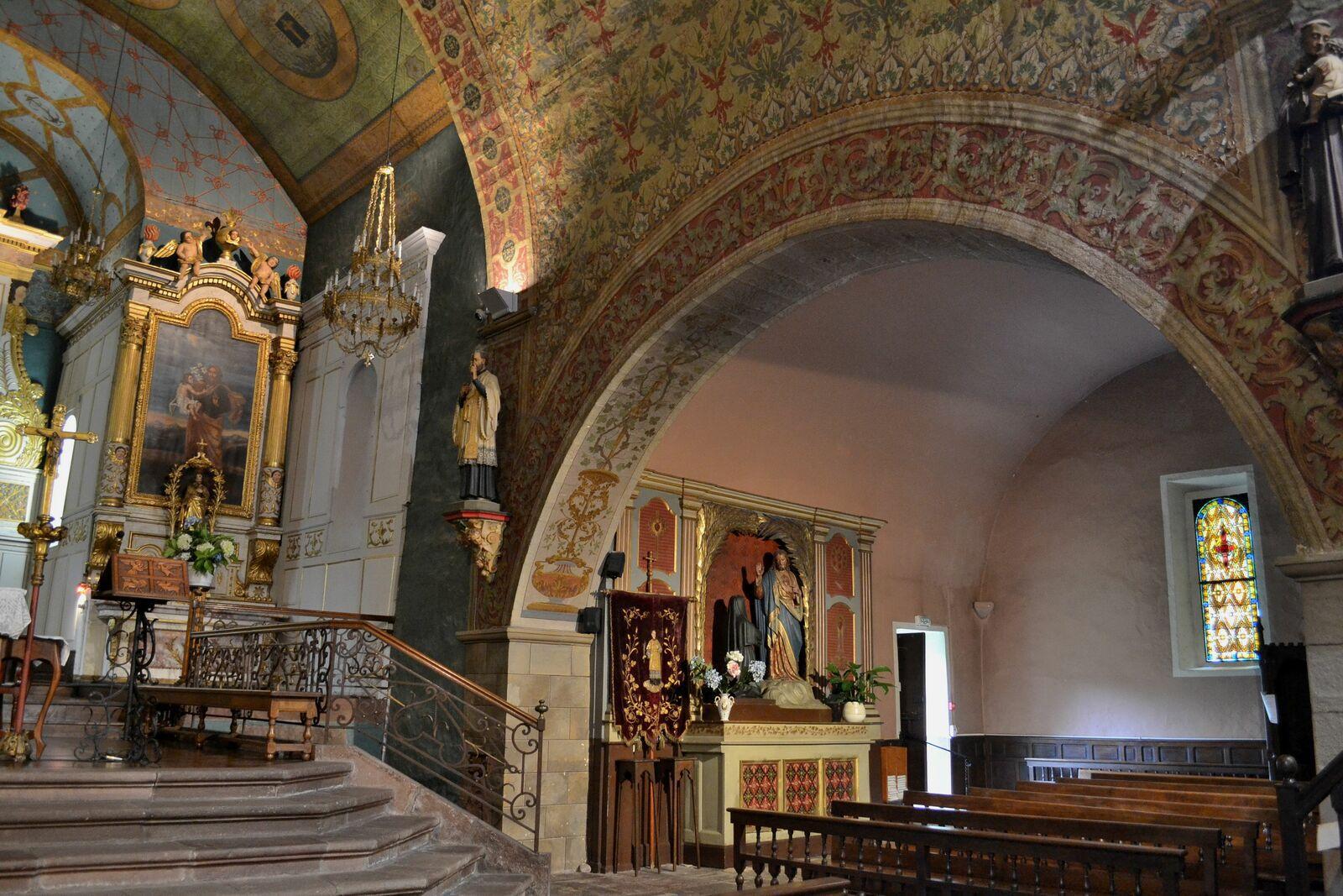 L'église Saint-Etienne...