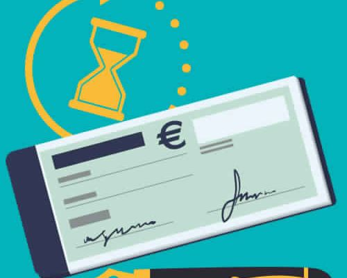 Encaissement cheque banque postal