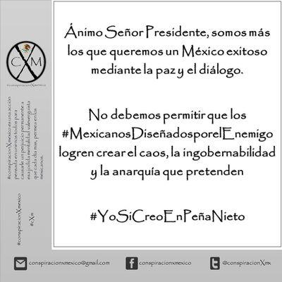 Apoyo al Presidente Enrique Peña Nieto