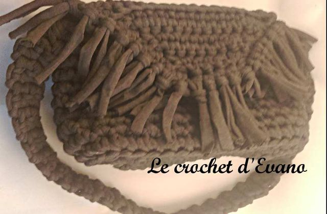 Tuto gratuit crochet : Le sac Cathy