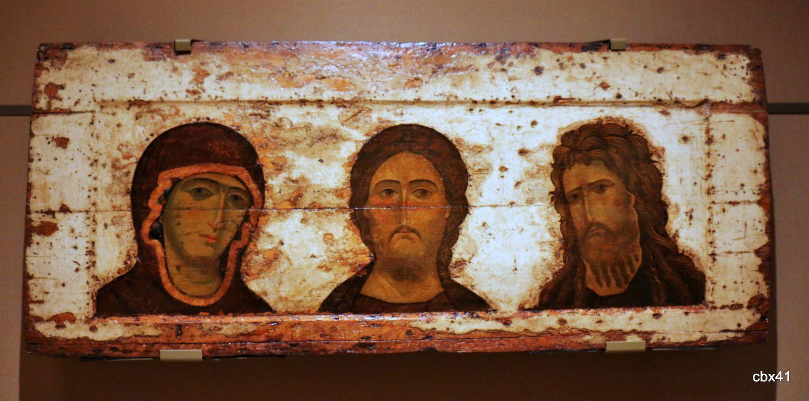 La Vierge, Le Sauveur et Jean-Baptiste, galerie d'Etat Tretiakov, Moscou (Russie)