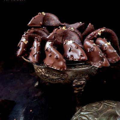 Cornes de gazelle au chocolat