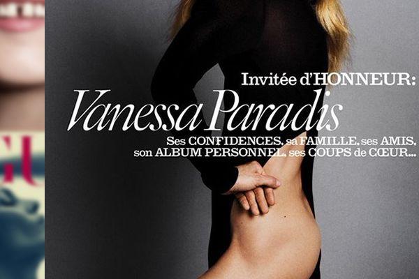 Vanessa Paradis désarticulée et les fesses à l'air pour Vogue ! #VanessaParadis