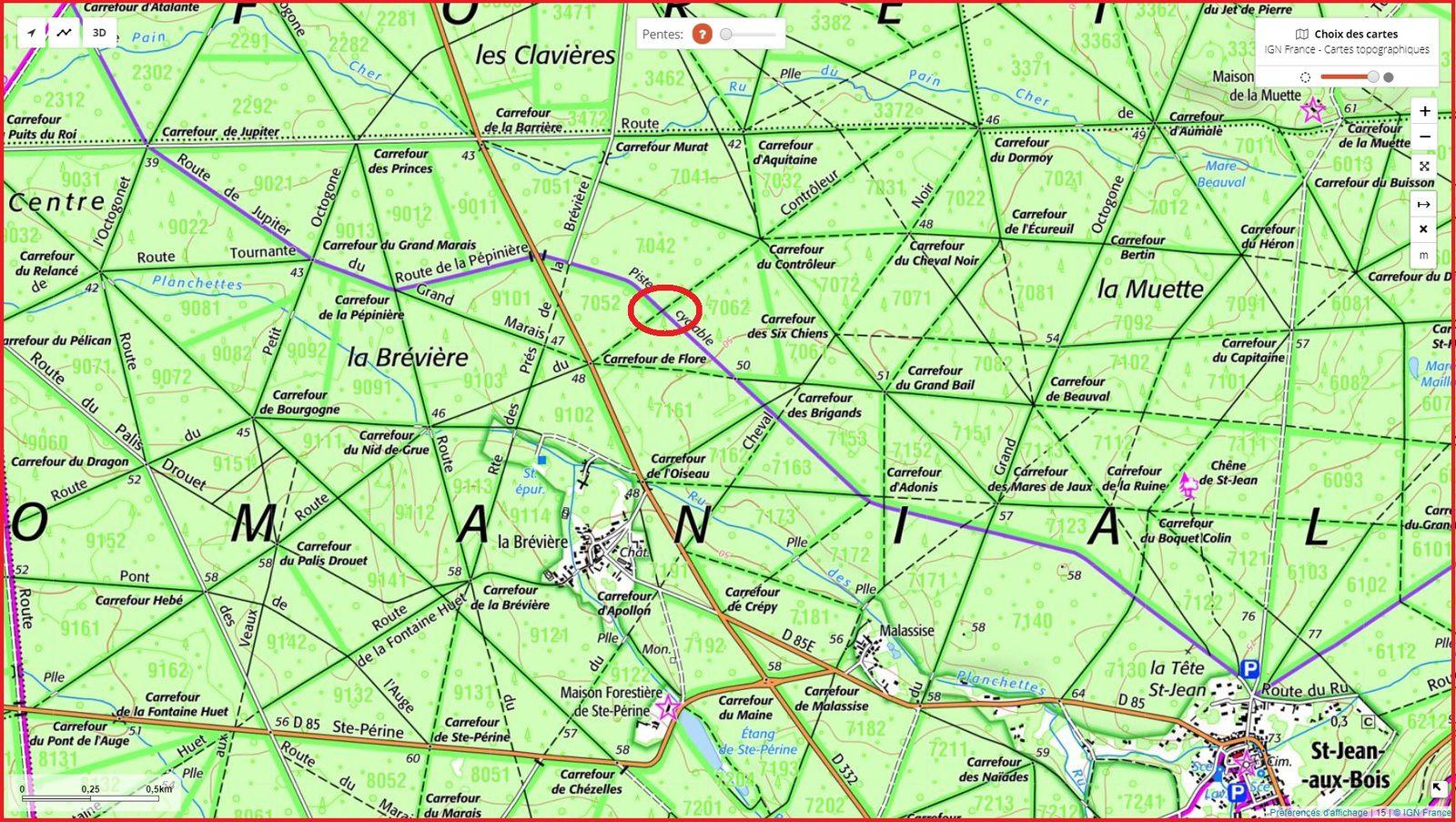 carrefour_Chemin des Meuniers_Route du Contrôleur