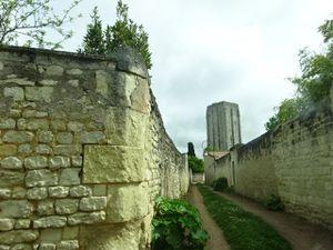 Beauté de la France, Loudun, Ville haute ancienne, Murs de falun, Cl. Elisabeth Poulain