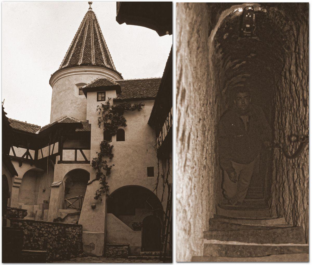 Le Château de Bran, le Faux Château de Dracula et ses passages secrets.