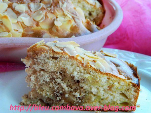 Gâteau Moelleux aux Pommes, Lait concentré et Crème de Marron Vanillée