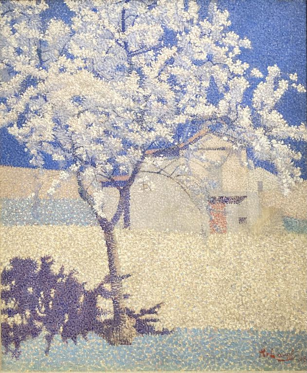 Achille Laugé, Maximilen Luce (2), Camille Pissarro