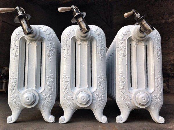 Novembre 2014 prestation rénovation pour le SÉNAT 5 radiateurs des Fonderies de BROUSSEVAL , beaux spécimens rares période 1920 .