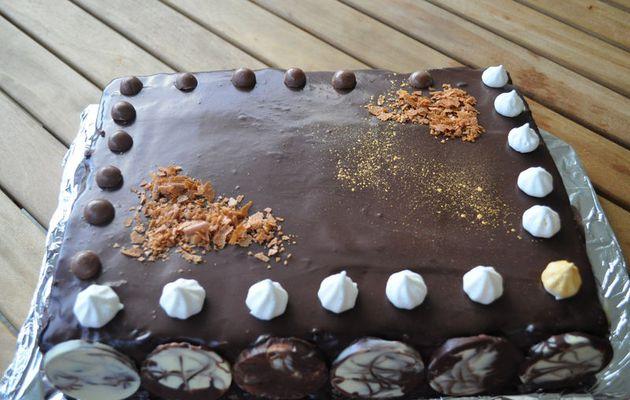 Fort en chocolat le Megève de P. Hermé à ma façon