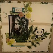 "Scrapbooking: ""Panda"" (2021-1). - le blog patoupassions"