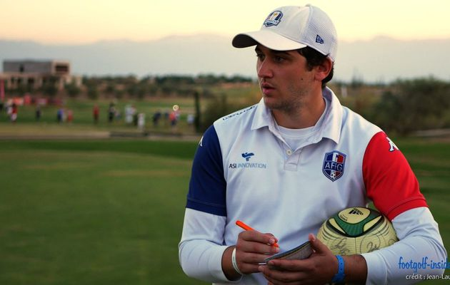 "Antonio Balestra, champion de France 2017 de footgolf : ""Être champion de France, c'est tout simplement énorme."""
