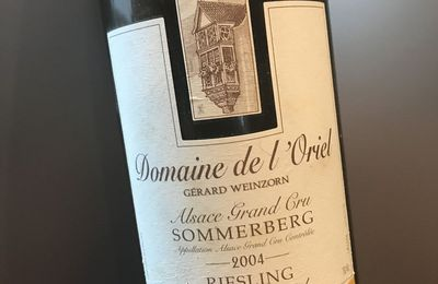 Alsace grand cru Sommerberg 2004 Riesling Cuvée Arnaud Domaine de L'oriel