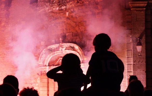 Fête de la République : le feu s'invite au coeur de ville