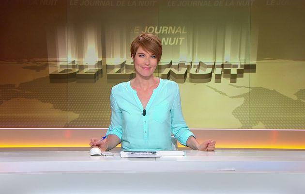 LE JOURNAL DE LA NUIT de LUCIE NUTTIN le 2016 06 19 sur BFM TV