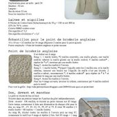 petites choses: Tuto tricot # Paletot point de broderie anglaise