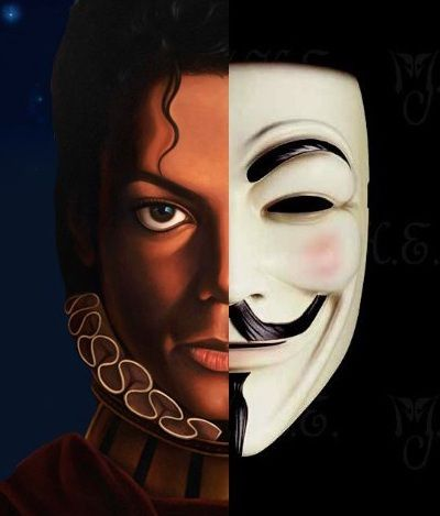 Michael  Jackson Behind the Mask