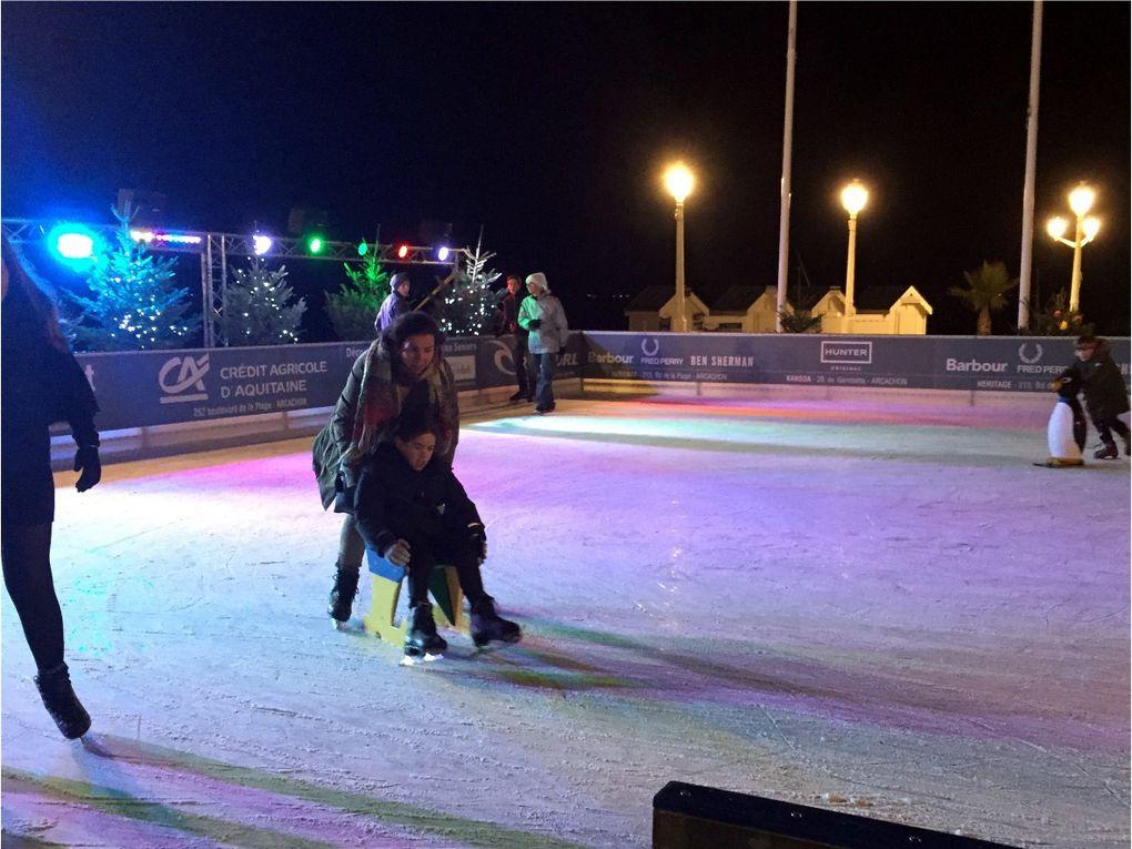 Noël à Arcachon, avec patinoire! (photos C Leroy)