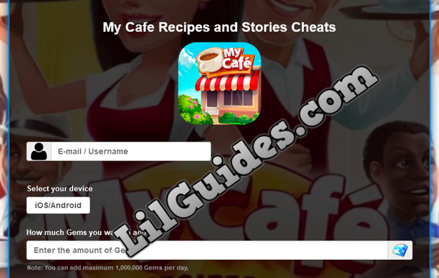 My Cafe Recipes and Stories Hack [Get free Gems] [2020] [New]