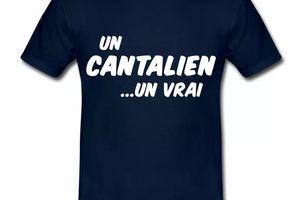 T Shirt Auvergne Un Cantalien Un Vrai HBM