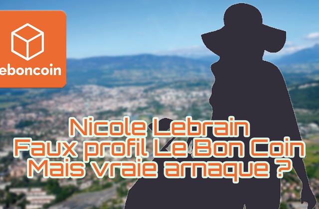 Une arnaque sur Le Bon Coin : Nicole Lebrain d'Annemasse et internationaledef.com ! Paiement direct via faux PAYPAL