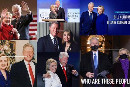 #USA : Bill et #Hillary #Clinton au #Capitole pour assister à l'investiture de Joe #Biden = mais qui sont ces gens ?